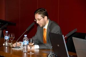 Fernando Rivero en un congreso