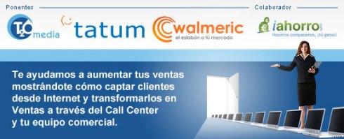 Evento para transformar leads en ventas-Tatum, T2O, Walmeric, iahorro