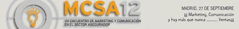 VIII encuentro de marketing y comunicación en el sector asegurador 2012