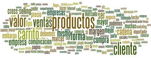 Nube de tags Blogosfera de marketing Septiembre 2012