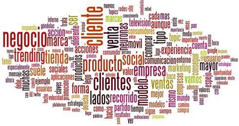 Nube de tags Blogosfera de marketing Enero 2012