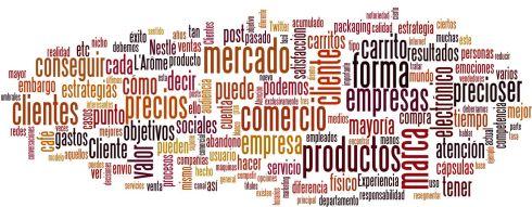Nube de tags Blogosfera de marketing Febrero 2012