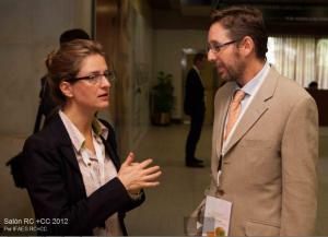 Fernando Rivero con Rie Pedersen en ExpoRC 2012