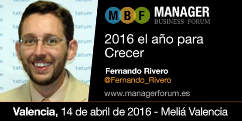 Fernando Rivero Forum de Marketing Y Ventas Valencia 2016